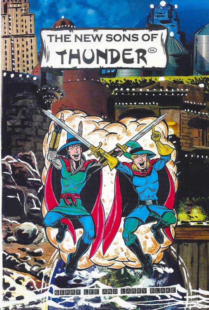 Christian manga new sons of thunder